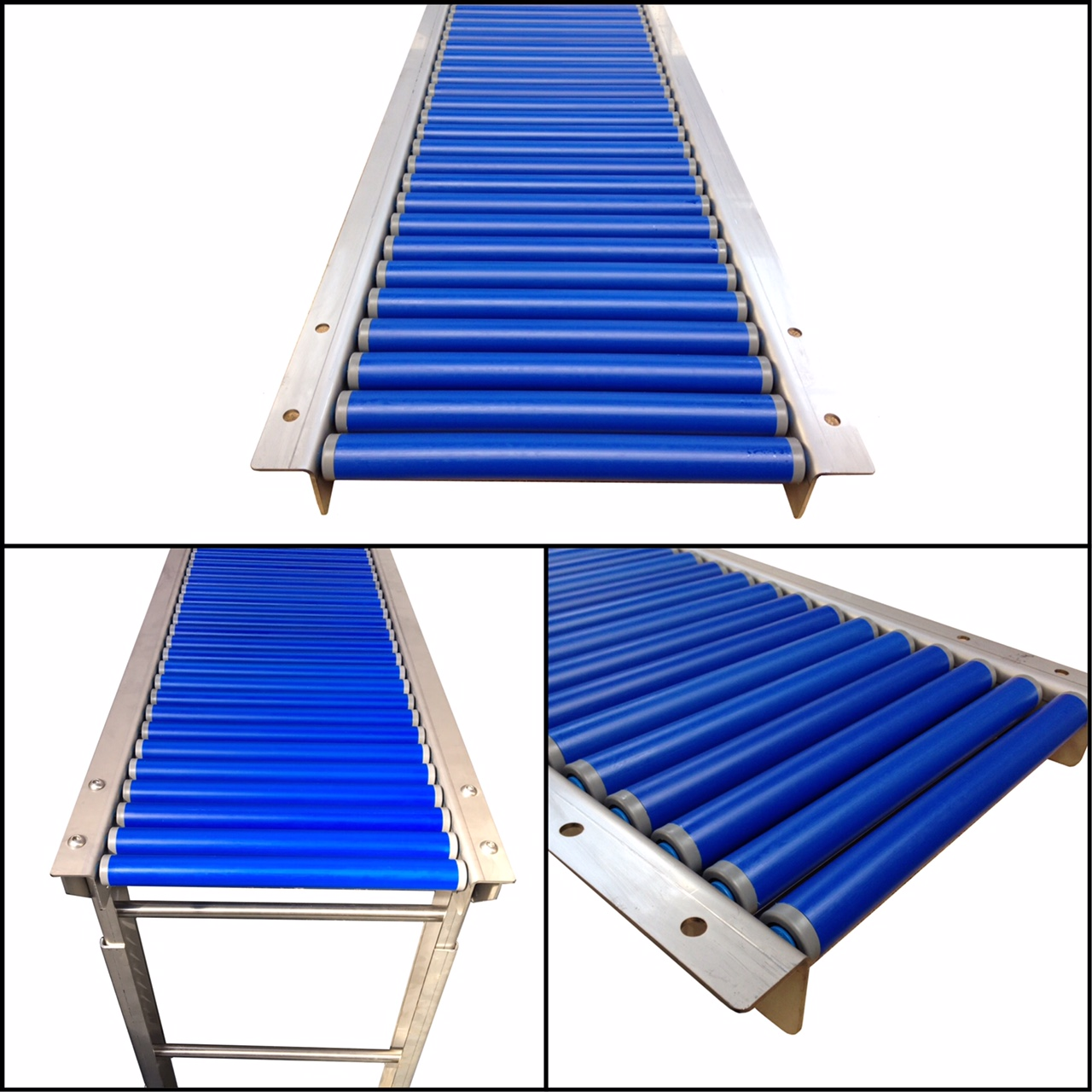 Light Duty Manual Stainless Steel Gravity Conveyor - Type SSGTA