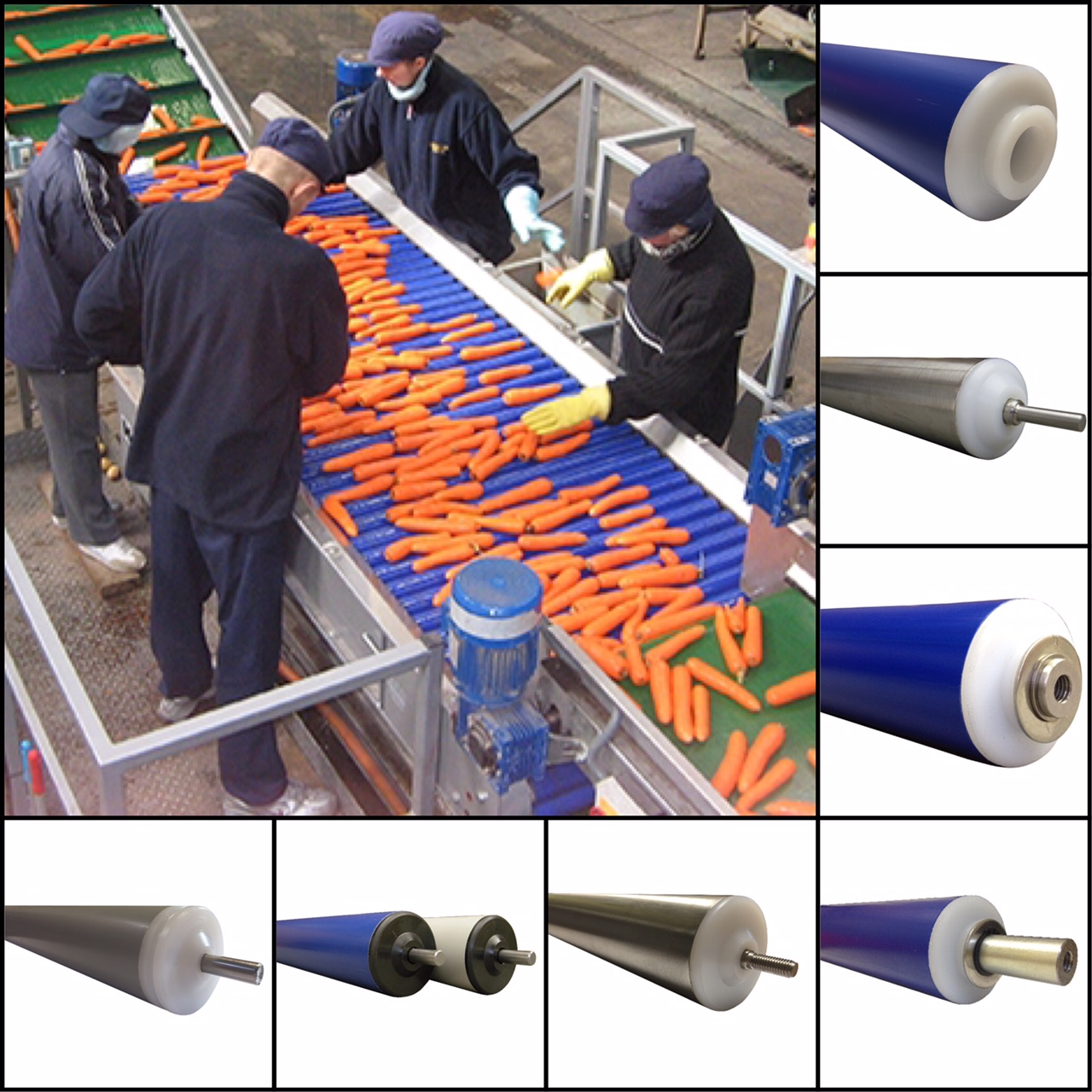 Food, Chemical & Cold Storage Rollers - Type ABM