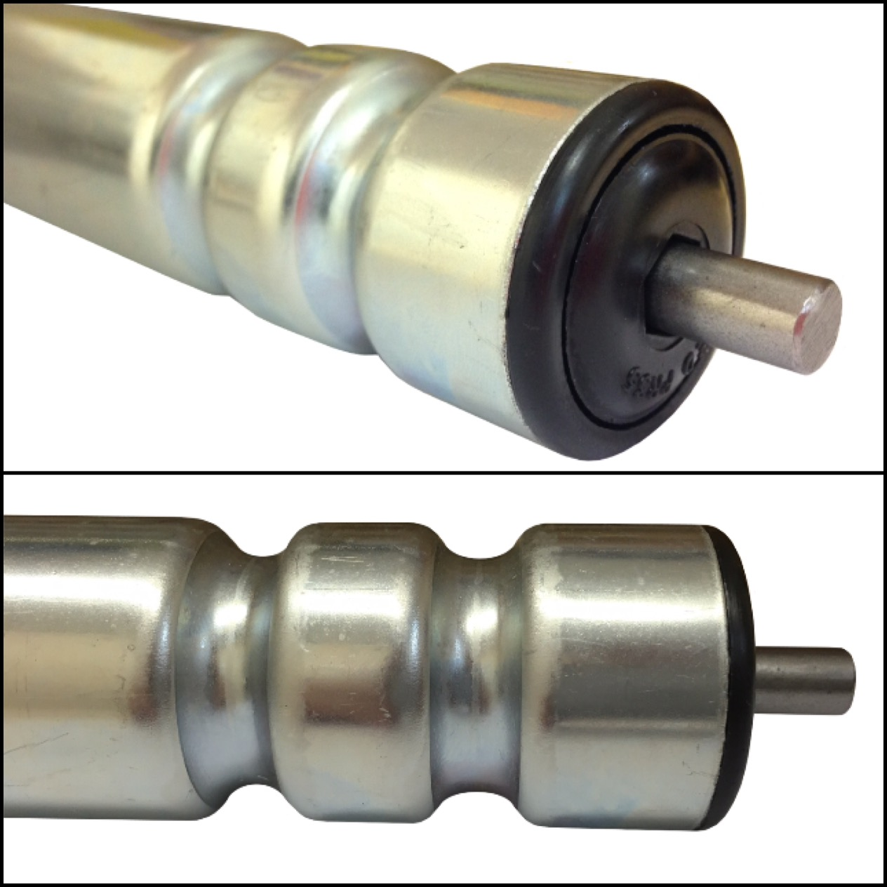 Medium Duty Grooved Roller For Round Belt Drive - Type GRP
